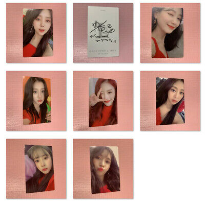 LVLZ LOVELYZ Official PHOTOCARD Only 6th Mini Album ONCE UPON A TIME Normal Ver.