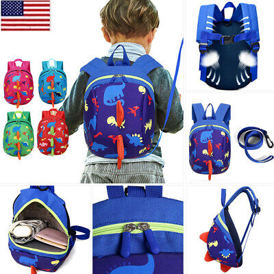 US Safety Harness Baby Strap Toddler Walking Keeper Backpack Anti Lost Leash JO