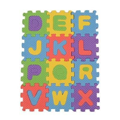 Puzzle Alphabet A-Z Letters Numeral Mat Kid Children Educational Toy Shan