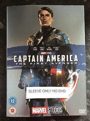Captain America The First Avenger Marvel Dvd Ltd Ed Sleeve (Sleeve Only No Dvd)