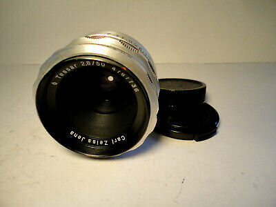 M42 Carl Zeiss Jena Tessar 2,8/50 1Q - TOP CONDITION VINTAGE LENS