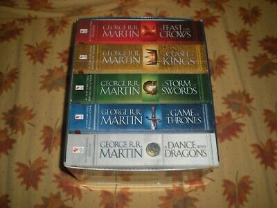 Box Set A Song Of Ice And Fire 5 Books Game Of Thrones - George R.r. Martin