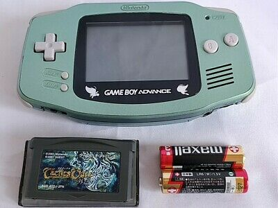 Pokemon Celebi Green LIMITED EDITION GAMEBOY ADVANCE CONSOLE GBA/tested -b522-
