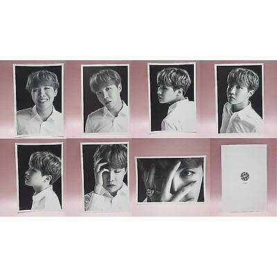 BTS J-HOPE Official FACE PHOTO COLLECTION 7 Cards The Wings Tour Concert Goods
