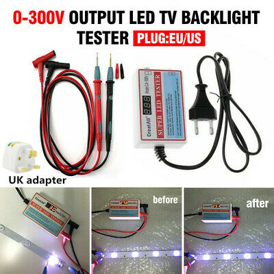 0-300V Output LED LCD Backlight Tester TV Laptop All Size Smart-Fit Voltage