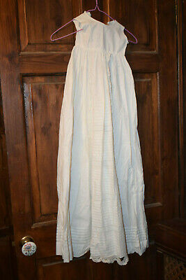 child's nightgown / slip with lacy front