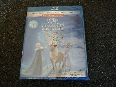 Olaf's Frozen Adventure (Blu-Ray, DVD Digital, 2018) Disney Brand New Sealed