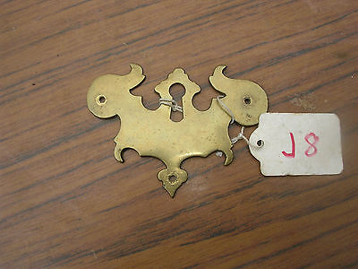 Antique Brass Escutcheon