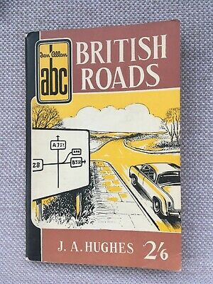 c1964 IAN ALLAN ABC BRITISH ROADS 545/10.656 pocket book by J A Hughes