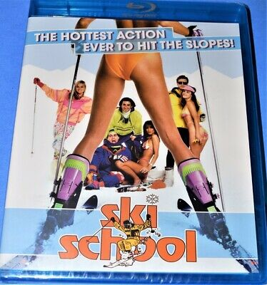 New Olive Films Dean Cameron Ski School Outrageous Comedy Movie Blu Ray 1990