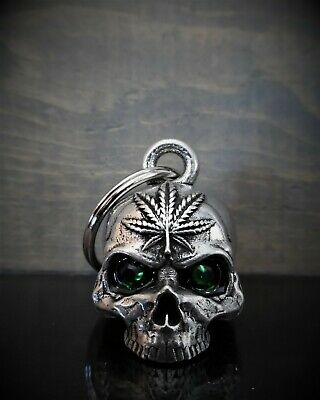 70b47ccd527 DIAMOND POT HEAD SKULL Ride Bell guardian to protect against motorcycle  gremlins
