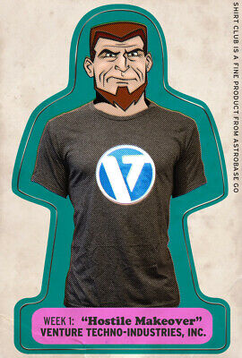 Venture Bros Shirt Club Week 1 Medium Season 6 Hostile Makeover Jonas Medium
