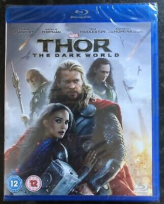 Thor The Dark World Marvel Bluray Brand New & Factory Sealed Mint Condition