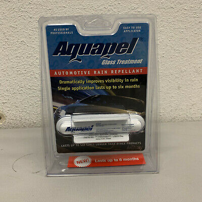 Aquapel Automotive Windshield Glass Treatment and Rain Water Repellent 8ML 47100
