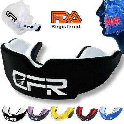 Gum Shield Teeth Protector Mouth Guard Piece Rugby Karate Football Boxing GW