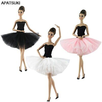 "Fashion Doll Clothes Short Ballet Dress For 1/6 Doll Outfits Gown For 11.5"" Doll"