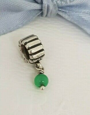 5571d6f84 Authentic Pandora Birthstone Dangle Charm May Chrysoprase 790166CH - Retired