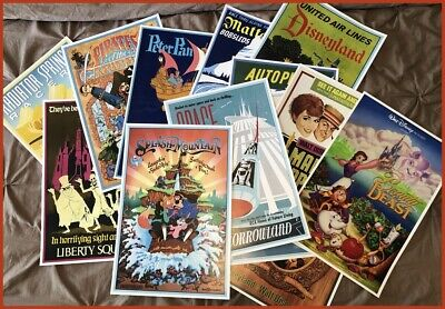 """Disney Poster (8) Pack - Any (8) 12""""x18"""" Disney Posters In Our Store!!"""