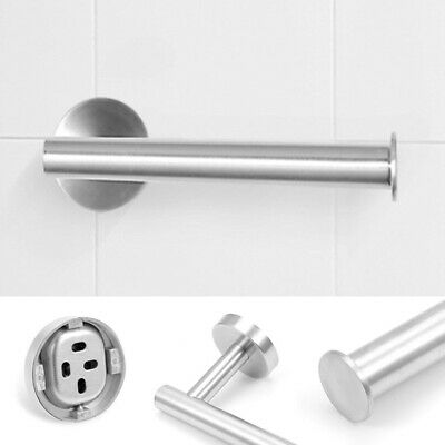 Stainless Steel Kitchen Bathroom Toilet Holder Wall Mounted Rack Paper Towel