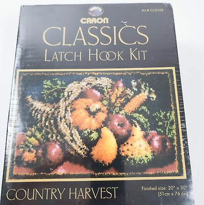 Caron Classics Country Harvest #CC0105 Latch Hook Kit New
