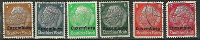 LUXEMBOURG - Under German Occupation1940- Early 20th Century Stamps WYSIWYG Lot