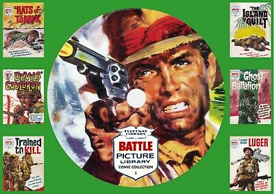 Battle Picture Library Comic Collection 1 On DVD Rom