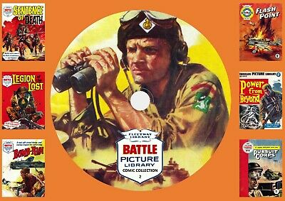 Battle Picture Library Comics Collection 2 & More On DVD Rom