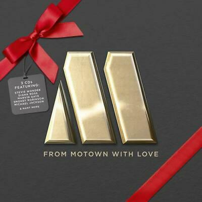 FROM MOTOWN WITH LOVE Various Artists NEW & SEALED 3X CD SET (UNIVERSAL) CLASSIC
