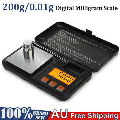 New 100g 0.01 Digital Pocket Scales Jewellery Electronic Milligram Micro C0M0
