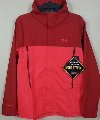 5f5ae3483d79c Under Armour Storm Paclite Gore-Tex Jacket Red Rare New 1271465-600 (Size