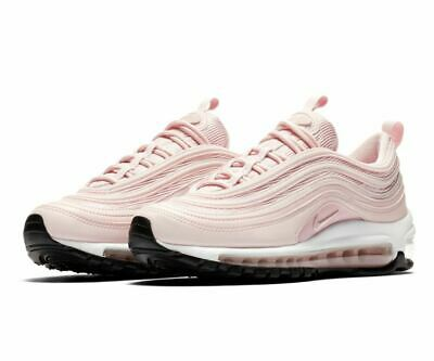 quality design 5b203 2b0ea Nike Wmns Air Max 97 Rosa Pink Schwarz Damen EU38 US7 BARELY ROSE 921733 600