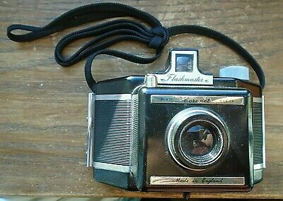 CORONET FLASHMASTER  MADE IN ENGLAND with CASE