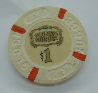 Casino Chip $1 Golden Nugget Poker Gambling