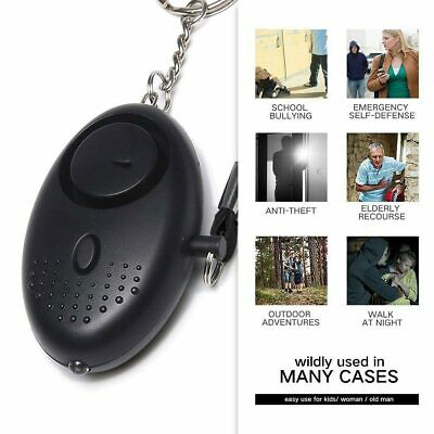 Police Keyring Approved Personal Panic Rape Attack Safety Security Alarm 140db