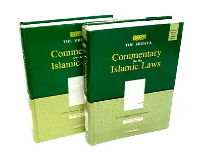 The Hidayah (Guidance) Commentary on the Islamic Laws - 2 Volumes (Hardback)