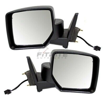 NEW RIGHT SIDE POWER MIRROR TEXTURED BLACK FITS 2007-2015 JEEP PATRIOT CH1321283
