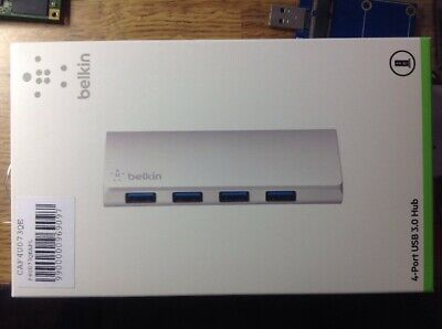 Belkin 4-Port Powered Desktop USB 3.0 Hub