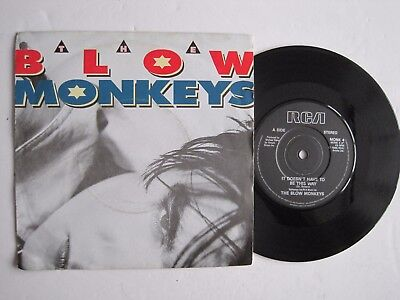 "THE BLOW MONKEYS - IT DOESN'T HAVE TO BE THIS WAY - 7"" 45 rpm vinyl record"