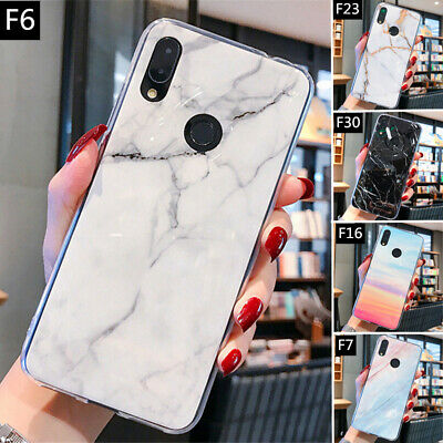 For Xiaomi Redmi Note 7 6 5 Pro Marble Patterned Shockproof Soft TPU Case Cover