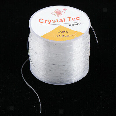 1 Roll Clear Elastic Thread Stretchy Cord Jewelry Making Accessories Finding