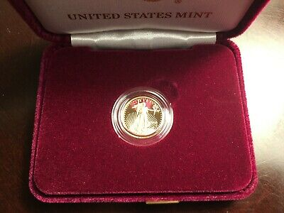 2018 $5 US Mint American Liberty 1/10 oz Gold Proof Coin
