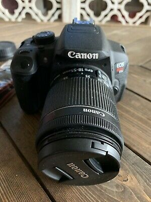 Canon EOS Rebel T5i / EOS 700D 18.0MP Digital SLR Camera - Black (Kit w/ IS STM