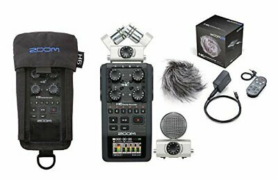 ZOOM H6 HANDY Recorder Interchangeable Microphone System
