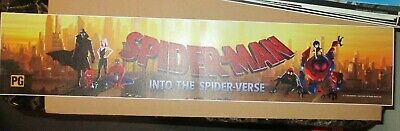 """Spider-Man Into The Spider-verse New LARGE 5""""x 25""""  Mylar Movie Poster/Banner"""