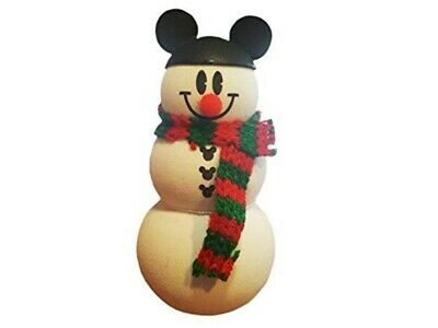 NEW Disney Parks Christmas Snowman with Mickey Ear Hat Antenna Topper Pen Pencil