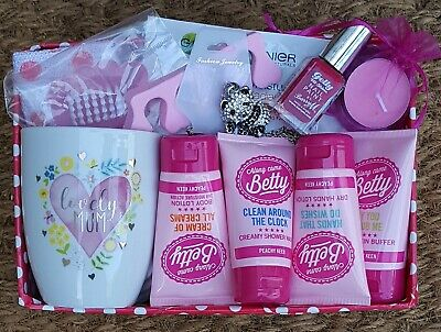 Womens Lovely Mum Luxury Pamper Hamper Birthday Gift Thank You Present Christmas