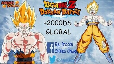 2 Dokkan Battle Account Farmed Global - Android/Ios +1800 Stones