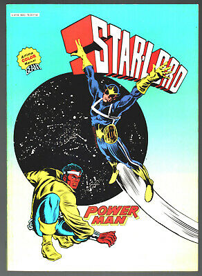 ALBUM ARTIMA COLOR MARVEL GEANT ¤ avec STAR-LORD - POWER MAN ¤ 1980