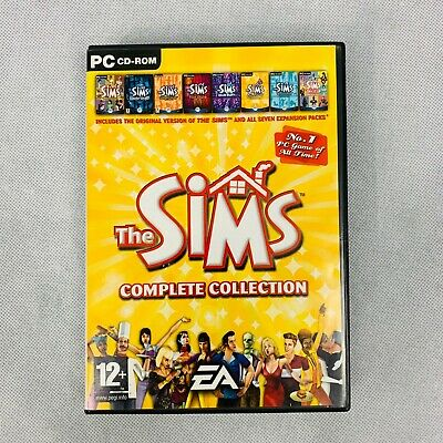 The Sims 1 PC game Complete Collection & All Expansion Packs
