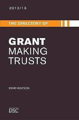 Directory of Grant Making Trusts by Traynor, Tom